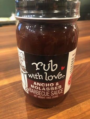 rub with love BBQ sauce