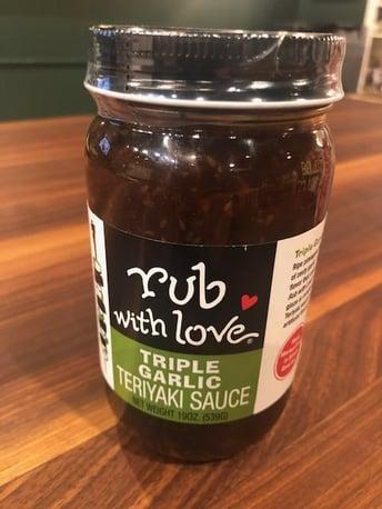 rub with love teriyaki sauce