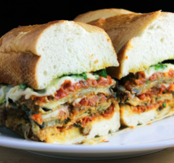 Eggplant Parmesan Sandwich Home Box