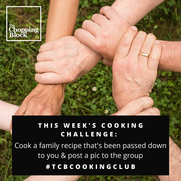 FB Group Challenge_ Family Recipe