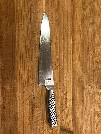 Global chef knife
