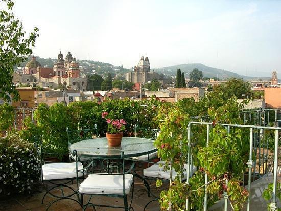 Casa Calderoni rooftop terrace