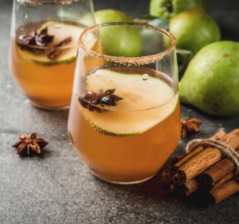 Pear Cocktail Home Box