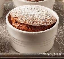 chocolate souffle small