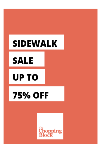 Sidewalk Sale Home Page