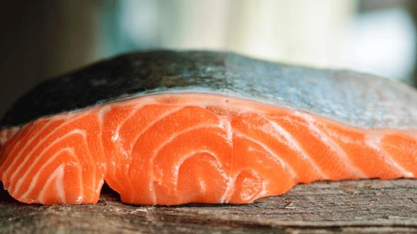 Salmon with Skin