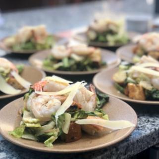 Shrimp Caesar Salad Home Box-1