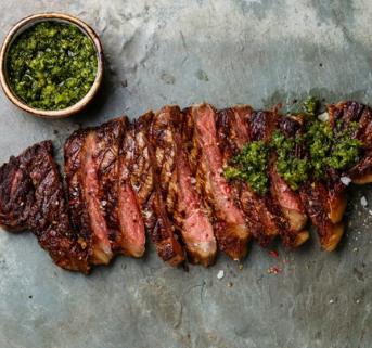 Steak with Chimichurri Home Box