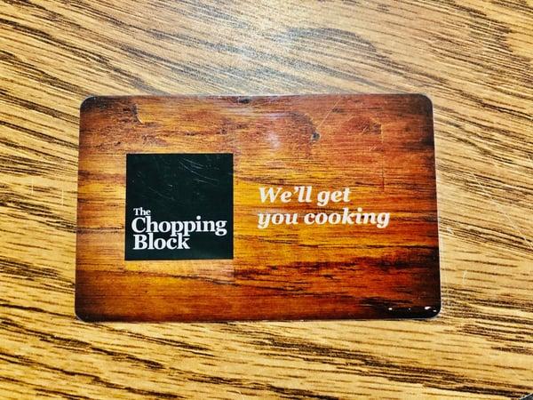 TCB gift card