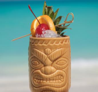 Tiki Cocktail Home Box