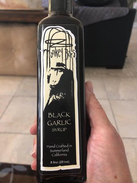 black garlic syrup