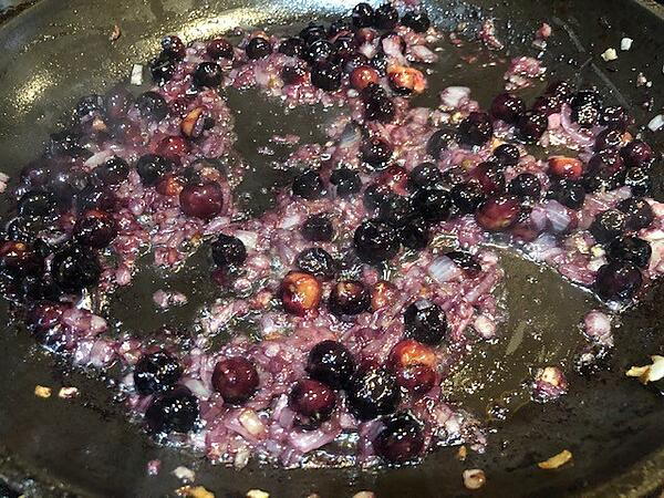 blueberries reducing
