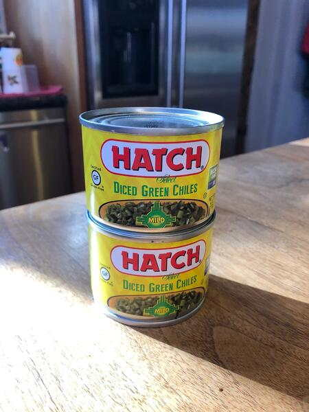 canned chiles
