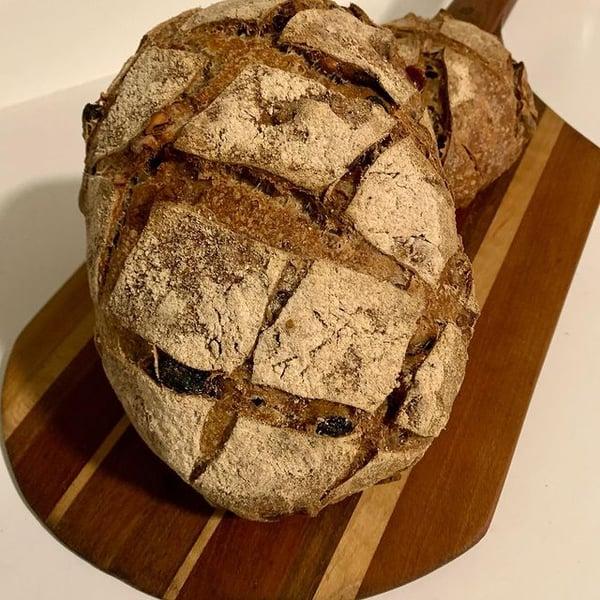 cross hatch bread