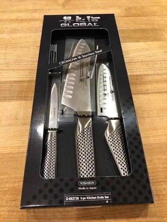 global 3 knife set