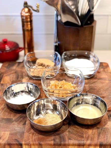 peach cobbler filling ingredients