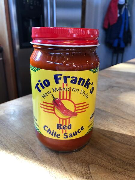 red chile sauce