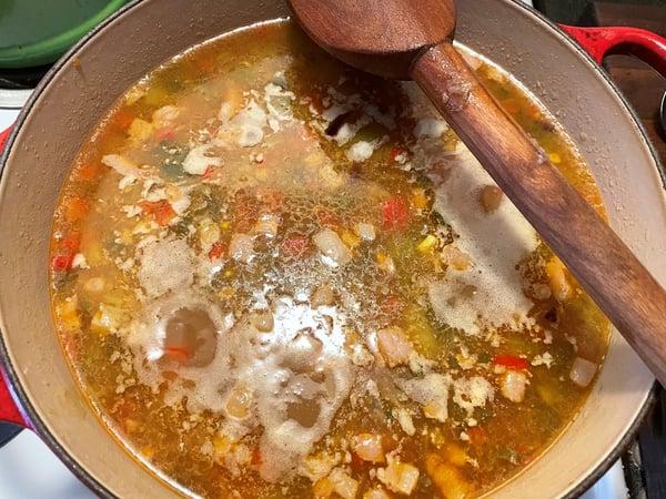 soup cooks