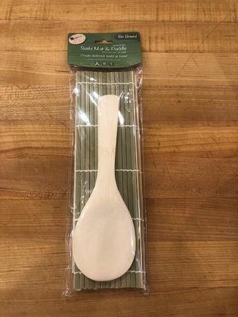 sushi rice paddle