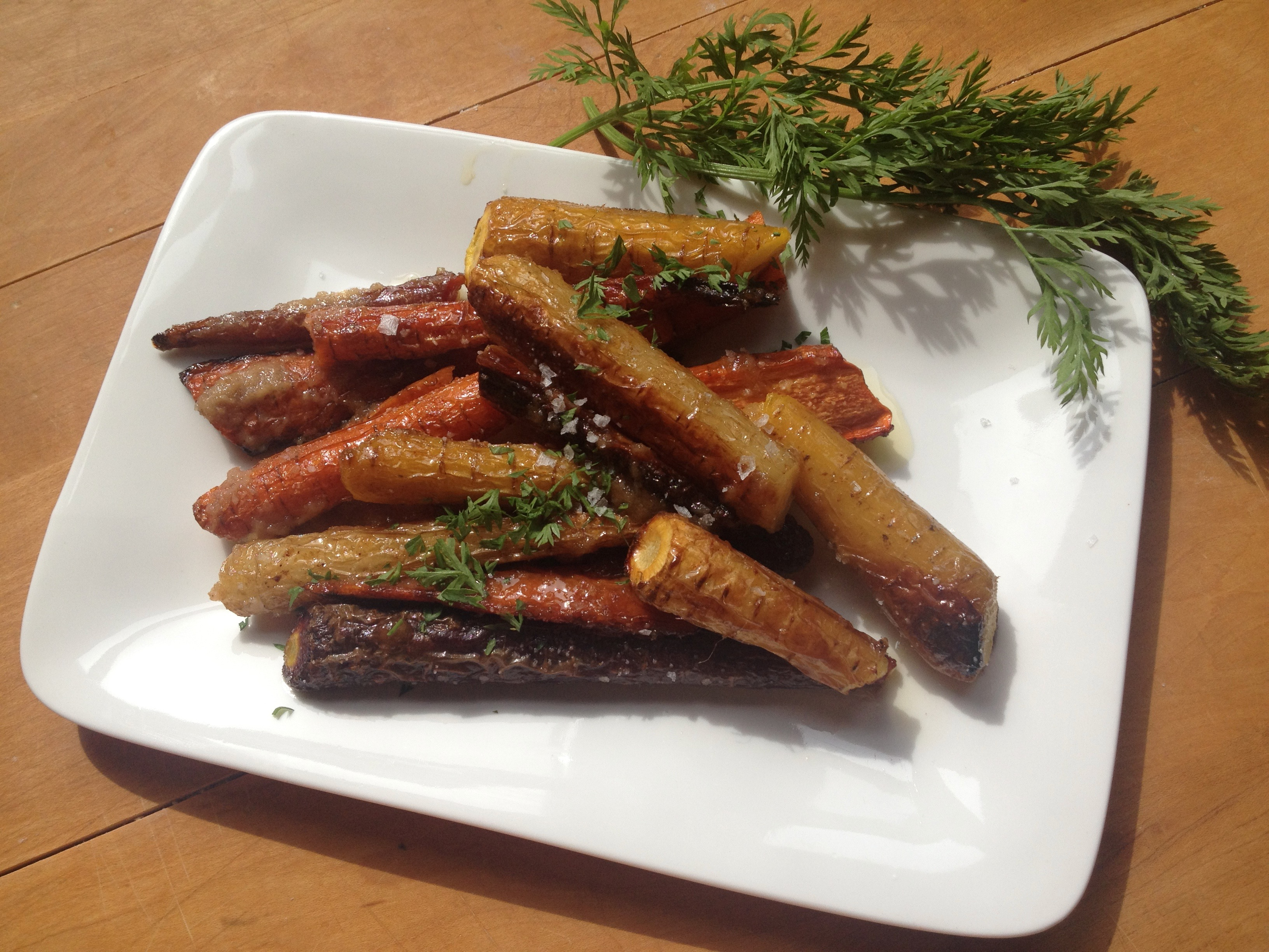 Easy Glazed Carrots
