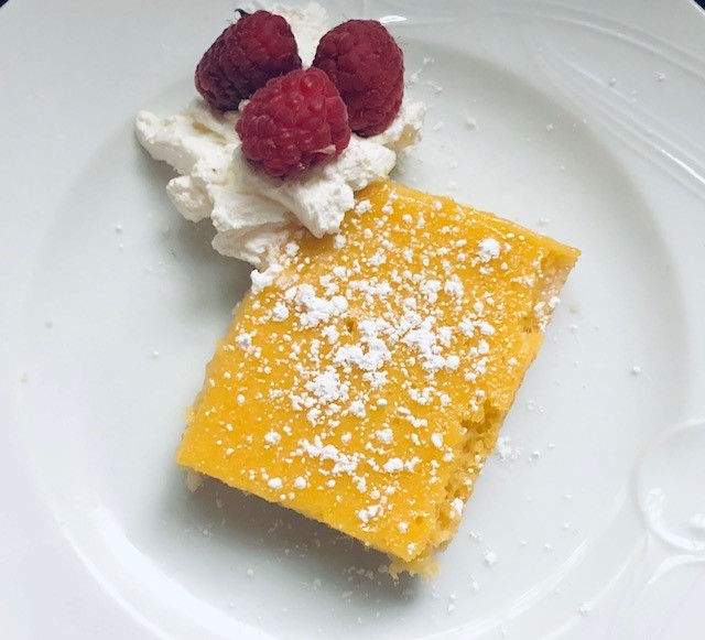 Mango Lime Bars with Coconut Crust