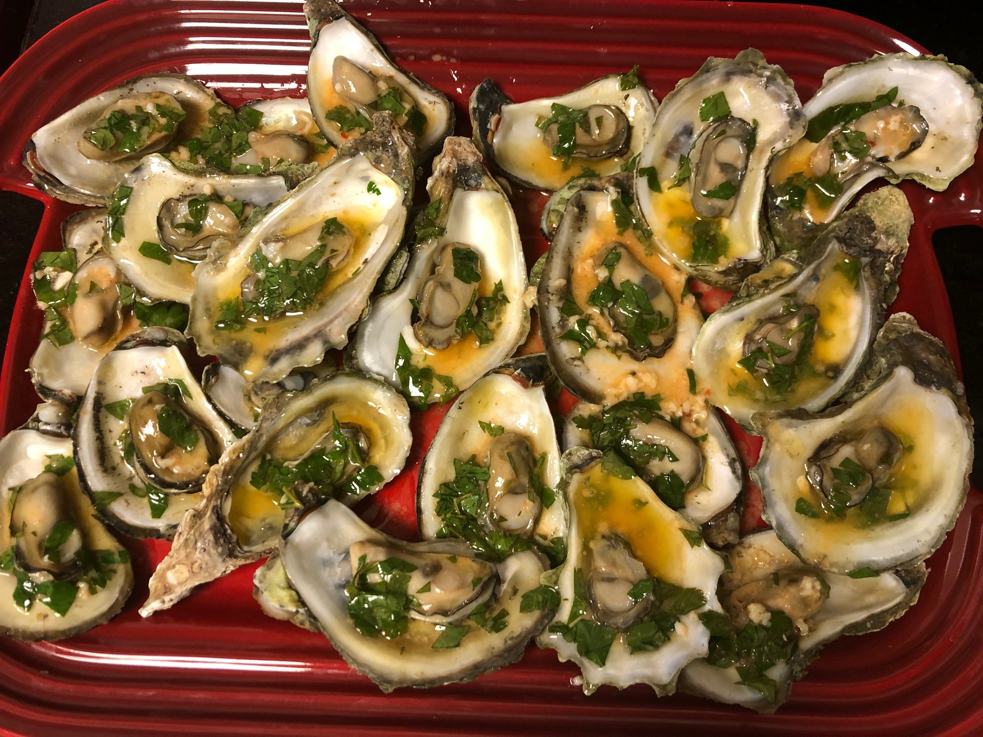 Steamed Oysters in the Instant Pot