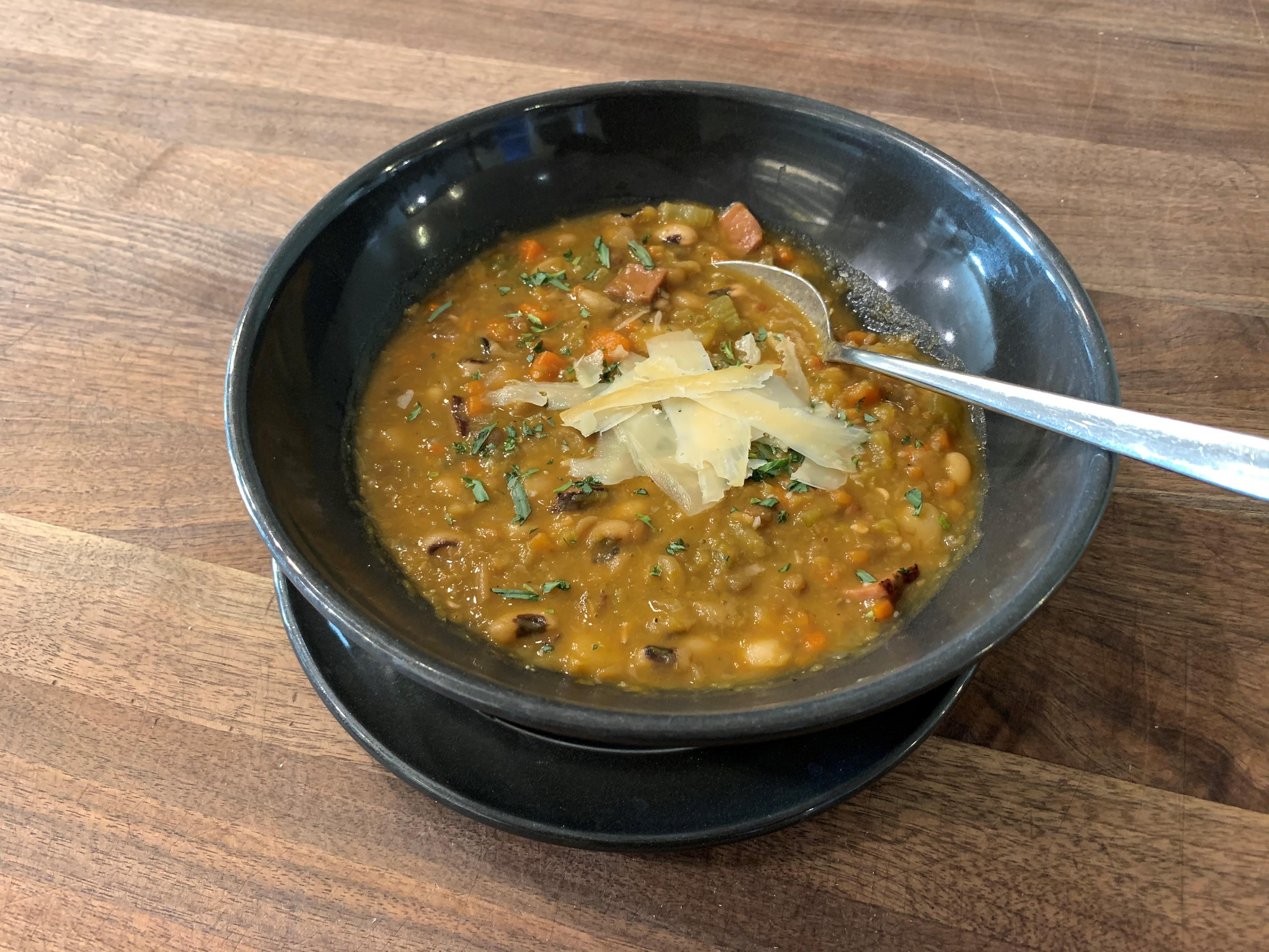 French-Style 5 Bean Soup
