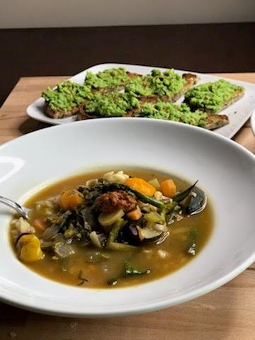 10 Vegetable Soup