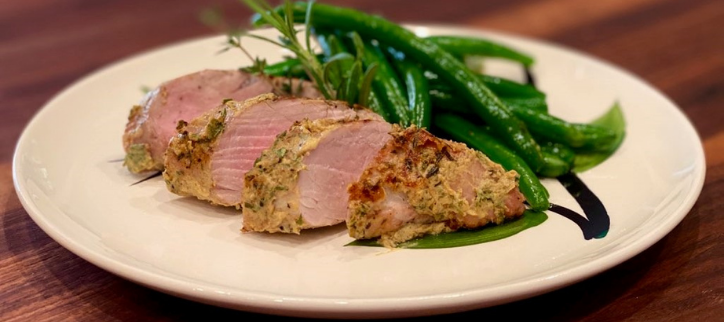 Herb Crusted Pork Tenderloin Recipe Edit
